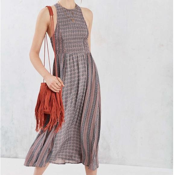 Urban Outfitters Dresses & Skirts - Sale! Kimchi Blue Printed Smocked Midi Dress